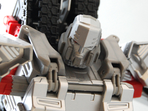 Megatron head Mtmte in Frosted Extreme Detail