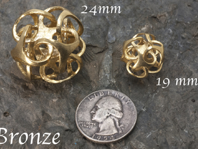 Metatron 24mm (1 inch) in Raw Bronze