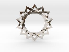14 Point Woven Shaman Star in Platinum