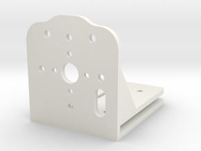 Motor Mount in White Strong & Flexible