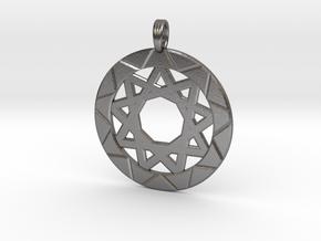 MAGIC VORTEX in Polished Nickel Steel