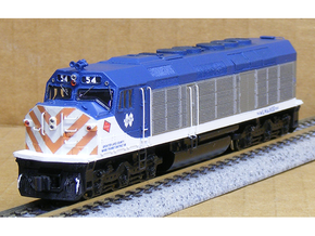 N Scale EMD F40C (Milwaukee Road) in Smooth Fine Detail Plastic
