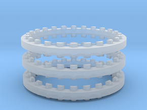 Rotary Kiln 27.25mm 3 Rings FUD in Smooth Fine Detail Plastic