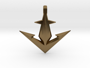 Anchor 4 in Polished Bronze