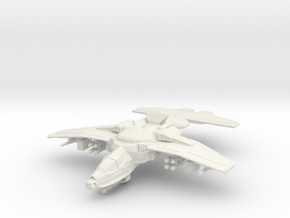 Erinyes Gunship, 6mm in White Strong & Flexible