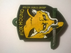 Foxhound in White Natural Versatile Plastic