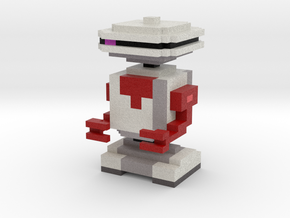 White Droid Friend in Full Color Sandstone