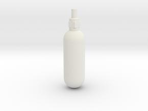 Spitfire Emergency Blowdown Bottle in White Strong & Flexible