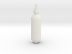 Spitfire Emergency Blowdown Bottle in White Natural Versatile Plastic