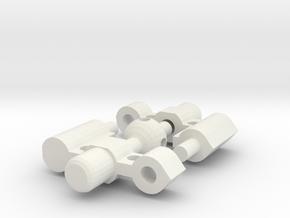 Glenross Dental Expansion Screw in White Natural Versatile Plastic