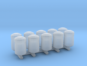 Microfusion Cell (10 Pack) 1:12 Scale in Smooth Fine Detail Plastic