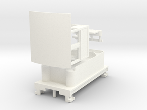 HOn30 Loco Kit 260 [ext cab] in White Processed Versatile Plastic