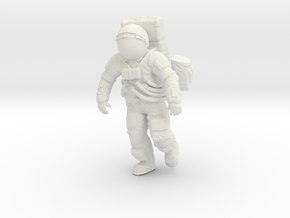 Apollo Astronaut a7lb Type / Walking 1: 24/1:20 in White Natural Versatile Plastic: 1:24