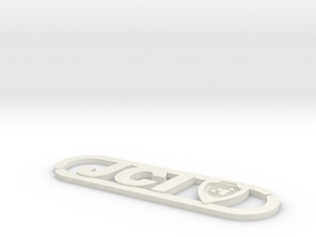 Jci Cable Organizer in White Natural Versatile Plastic