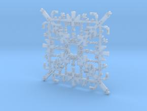 Super Mario Snowflake 2 in Smooth Fine Detail Plastic