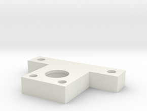 DMR MPC XL Center Block in White Natural Versatile Plastic