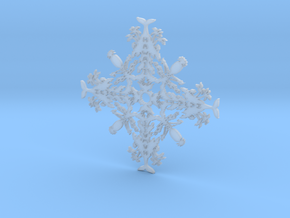 Hawaii Snowflake in Smooth Fine Detail Plastic