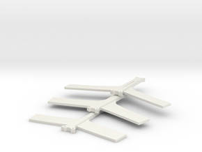 TDK Spine in White Natural Versatile Plastic