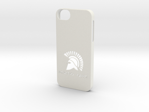 iPhone 5/5s Case Molon Lave in White Natural Versatile Plastic