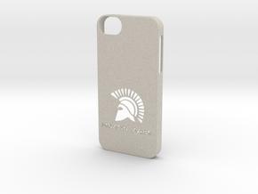iPhone 5/5s Case Molon Lave in Natural Sandstone