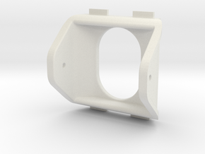QAV250 FPV Camera Mount (30x30mm) in White Natural Versatile Plastic