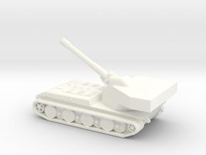 Panzerkampfwagen E-100 Waffentrager (1/285) Qty. 1 in White Processed Versatile Plastic