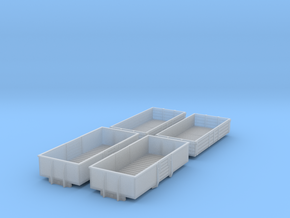 BR 1960s Open Wagons in Smooth Fine Detail Plastic