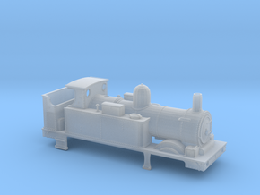 GWR 517 Body - Open Cab Round Firebox in Smooth Fine Detail Plastic