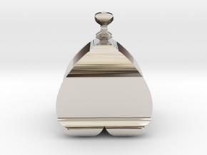 I♥U Shape 2 - View 2 in Platinum