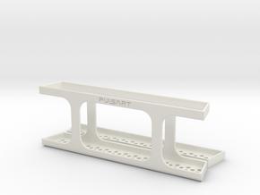 VW T5 California - Shelf for side shutter (big) in White Natural Versatile Plastic