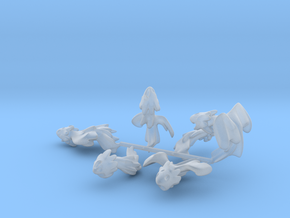 Jujoban Plasma Dragon Mechs in Smooth Fine Detail Plastic