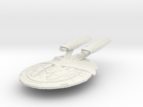 Kongo Class Destroyer in White Natural Versatile Plastic