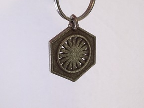First Order Keychain in Stainless Steel