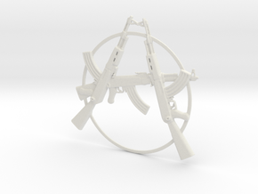 Ak47anarchy01 in White Natural Versatile Plastic