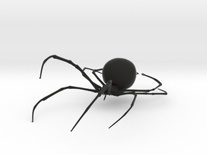 Dangling Widow in Black Natural Versatile Plastic