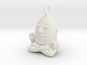 HUMPTY BUDA LOOP in White Natural Versatile Plastic
