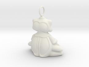 BBUDA STL in White Natural Versatile Plastic