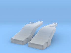 1/64 7R Mounting brackets for H480 Loader in Smooth Fine Detail Plastic