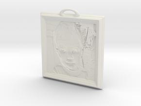 XanderSingle in White Natural Versatile Plastic