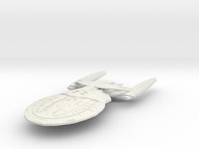 Hood Class BattleShip in White Strong & Flexible