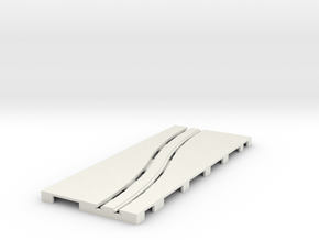 P-65stp-road-left-exch-145r-75-pl-1b in White Natural Versatile Plastic