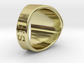 Buperball Ring MrFruitzy in 18k Gold