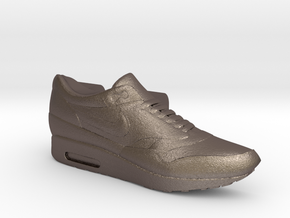 Nike Air Max 1 Lacelock (1 piece) in Polished Bronzed Silver Steel