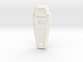 Crest of Love - Digimon in White Processed Versatile Plastic