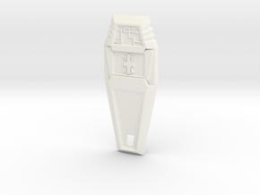 Crest of Reliability - Digimon in White Processed Versatile Plastic