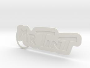 Mrtintkeychain01 in White Natural Versatile Plastic