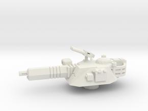 Centaur A3 Sniper Turret in 1/144  in White Natural Versatile Plastic