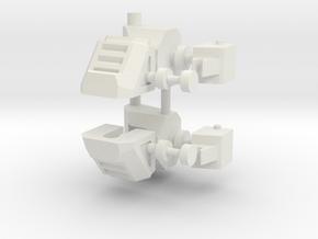 Feet KO TFC Slingshot/Fireflight V2.1 in White Natural Versatile Plastic