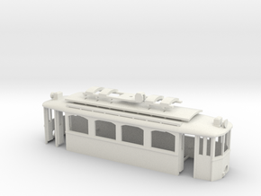 G2 Strassenbahn Wien Exkursionswagen Gehäuse in White Strong & Flexible