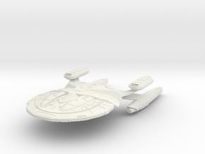 Ares Class Assault Cruiser in White Natural Versatile Plastic
